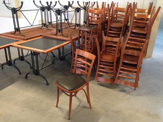 Horeca tafels tweedehands keukentafel afmetingen for Tweedehands meubilair