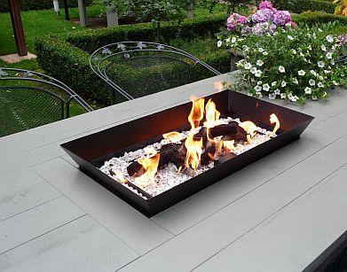 Vuurtafel 20 tafelhaarden gashaard tafel met vuur for Gas tuinhaard