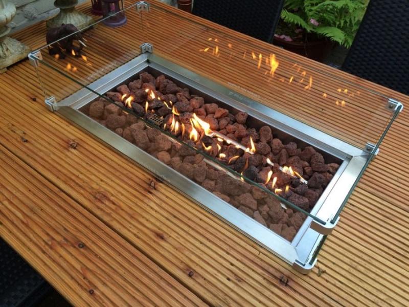 inbouwhaard tafelhaard vuurtafel terrashaard tafel met vuur. Black Bedroom Furniture Sets. Home Design Ideas