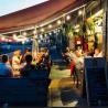 Brasserie-restaurant in centrum Houffalize (B) te huur.