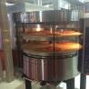 Van safecold Gas pizza oven met draaiende dek en base RP1