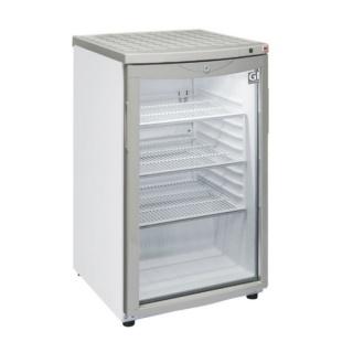 Gastro-Inox 85 liter display koelkast