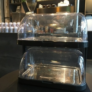 Gekoelde rolltop display dubbel