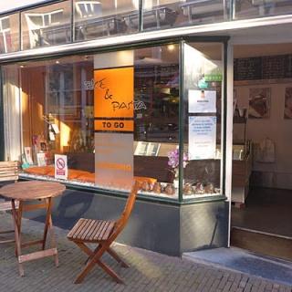 Bezorgrestaurant, hartje centrum van Delft