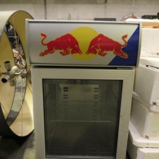Red Bull koelkast, Chroom met logo