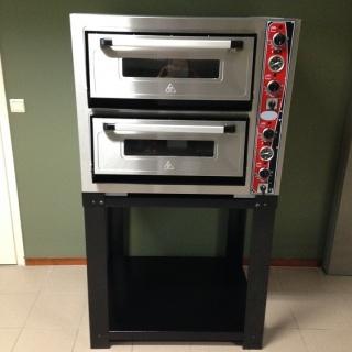 NIEUW! Dubbele pizza oven | 9 + 9 pizza\'s