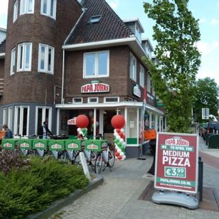 Papa John\'s Pizza Franschise onderneming MET GOEDE OMZET!