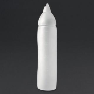 Aravent transparante anti-drup knijpfles 50cl