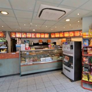 Te koop cafetaria mooi hoeklocatie